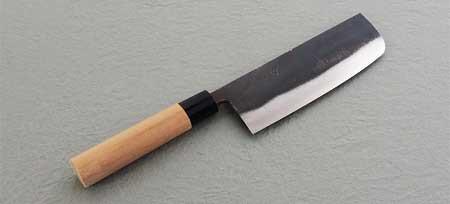 黒菜切り庖丁